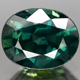 Genuine GREEN SAPPHIRE 1.26ct 7.4 x 5.8 x 3.7mm Oval