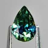 Genuine GREEN SAPPHIRE 1.08ct 7.0 x 4.8 x 4.3mm Pear