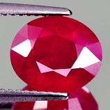 Genuine RUBY 4.05ct 9.9 x 8.3 x 5.3mm Oval