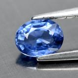 Genuine Ceylon BLUE SAPPHIRE 0.48ct 5.0 x 4.0mm Oval VSI Clarity