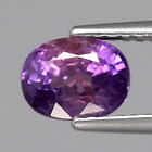 Genuine Purple Sapphire 1.35ct 6.5x5.0x4.4mm SI1 Ceylon