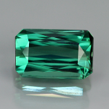 Genuine 100% Natural Green Tourmaline 1.04ct 7.0x4.5x3.6 VS1 Mozambique RARE