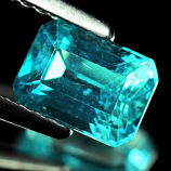 Genuine 100% Natural Apatite 1.17ct 6.7 x 4.8mm Tanzania SI
