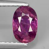 Genuine 100% Natural Purple Sapphire 1.18ct 7.2x4.8x3.5mm SI2 Madagascar