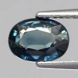 Genuine Bluish Green Sapphire 1.45ct 7.5x5.5x3.4mm VS1 Austrailia