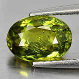 Genuine 100% Natural Demantoid Garnet 1.69ct 8.2 x 5.8mm Oval SI1 Clarity