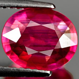Genuine RUBY 2.38ct 8.5 x 6.9 x 4.5mm Oval