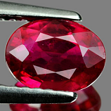 Genuine RUBY 1.49ct 7.4 x 5.5 x 3.7mm Oval
