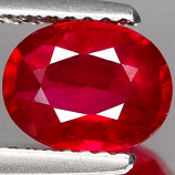 Genuine RUBY 1.72ct 8.2 x 6.4 x 3.5mm Oval