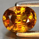 Genuine 100% Natural Sphene 1.18ct 6.8x5.3x4.0mm VS1 Madagascar
