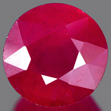 Genuine RUBY 4.25ct 9.1 x 9.1 x 5.8mm Round