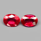 Genuine Ruby .086ct 6.9x5 mm SI1 Mozambique