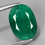 Genuine 100% Natural Colombian Emerald 2.14ct 10.0 x 7.3mm Oval I1 Clarity