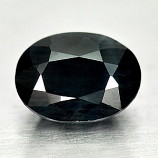 Genuine Midnight Blue Sapphire 1.22ct 7.0 x 5.0mm Oval Opaque