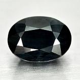 Genuine Midnight Blue Sapphire 1.22ct 7.0 x 5.0mm Oval Opaque