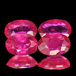 Genuine Ruby .61ct 6.0 x 4.0 x 2.8mm Mozambique VS1