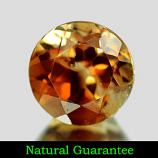 Genuine 100% Natural Champagne Topaz 2.57ct 8.1 x 8.1 x 5.9mm Brazil SI