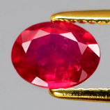 Genuine Ruby 1.51ct 7.8x6x3.4mm SI2 Mozambique