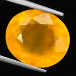 Genuine 100% Natural Yellow Opal 12.15ct 16.3x13.2x8.0 VVS Mexico