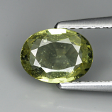 Genuine Green Sapphire 1.03ct 7.1 x 5.1mm Tanzania VS1 Clarity