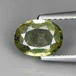 Genuine Green Sapphire 1.03ct 7.1 x 5.1mm Tanzania VS1 Clarity