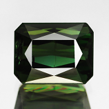 Genuine 100% Natural GREEN TOURMALINE 2.24ct 8.3 x 6.5mm Scissor Cut