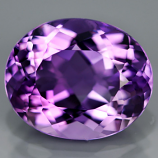 Genuine 100% Natural Amethyst 4.41ct 12.0x9.8 VVS1 Uruguay