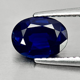Genuine Blue Sapphire 1.27ct 8.0 x 6.0mm Oval SI1 Clarity