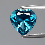 Genuine Blue Topaz 2.32ct 8x8x5.4mm VVS Brazil