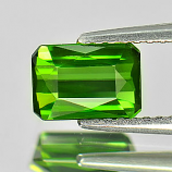 Genuine 100% Natural Green Tourmaline 1.06ct 7.2 x 5.0mm Octagon VVS Clarity
