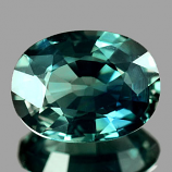 Genuine Green Sapphire 1.19ct 7.3 x 5.4 x 3.1mm Thailand VS1