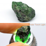 Genuine 100% Natural Tsavorite Rough 10.31ct 14.0x9.8x9.8mm Tanzania