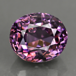 Genuine 100% Natural TITANIUM PURPLE SPINEL 1.29ct 6.5 x 5.5 x 4.4mm Oval