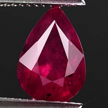 Genuine RUBY 4.59ct 10.7 x 8.2 x 6.3mm Pear