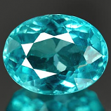 Genuine 100% Natural APATITE 1.43ct 8.0 x 6.2mm Oval