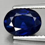 Genuine Blue Sapphire 1.61ct 8.0 x 6.0mm Oval VS1 Clarity