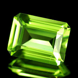 Genuine 100% Natural Peridot 1.79ct 7.9 x 6.0 x 4.3mm Thailand VVS