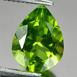 Genuine 100% Natural Peridot 1.78ct 9.0 x 7.0mm Pear VS1 Clarity