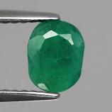 Genuine 100% Natural EMERALD 1.19ct 6.8 x 5.2mm Oval SI2 ClarityZambia