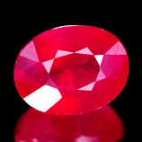 Genuine Ruby 2.08ct 8.0 x 6.2 x 4.4mm VS1