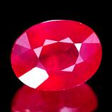 Genuine Ruby 2.08ct 8.0 x 6.2 x 4.4mm VS1