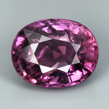 Genuine Pink Sapphire 1.06ct 8.1 x 5.9mm SI Clarity