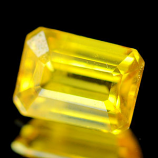 Genuine Yellow Sapphire 1.10ct 6.6 x 4.9 x 3.1mm Thailand SI