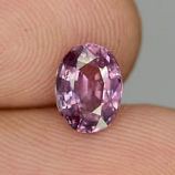 Genuine Purple Sapphire 1.51ct 7.7x5.7x3.6mm SI1 Madagascar