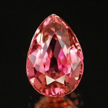 Genuine 100% Natural PINK TOURMALINE 1.04ct 7.4 x 5.2 x 4.1mm Pear