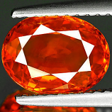 Genuine ORANGE SAPPHIRE 2.19ct 9.0 x 6.8 x 3.7mm Oval