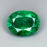 Genuine 100% Natural Emerald 1.33ct 8.0 x 6.1mm Colombia SI