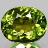 Genuine 100% Natural GREEN TOURMALINE 2.16ct 8.3 x 6.7 x 5.6mm Oval