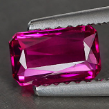 Genuine 100% Natural Pink Tourmaline .79ct 7.2 x 4.4 x 2.7mm IF