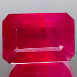 Genuine RUBY 5.70ct 10.9 x 7.7 x 5.9mm Octagon
